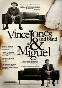 Poster: Vince Jones and Miguel